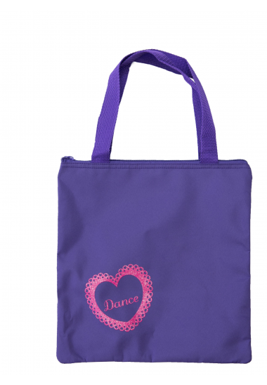 Lace Tote - Purple