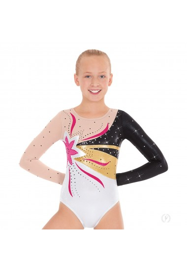 Child Flower Power Gymnastics Leotard