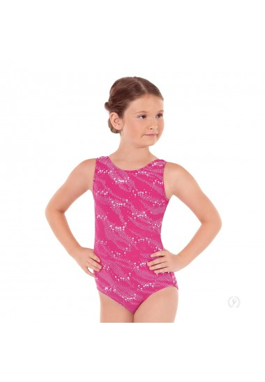 Eurotard Child Sequin Wave Tank Leotard