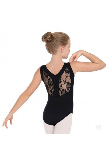 "Lace ""Y"" back leotard"