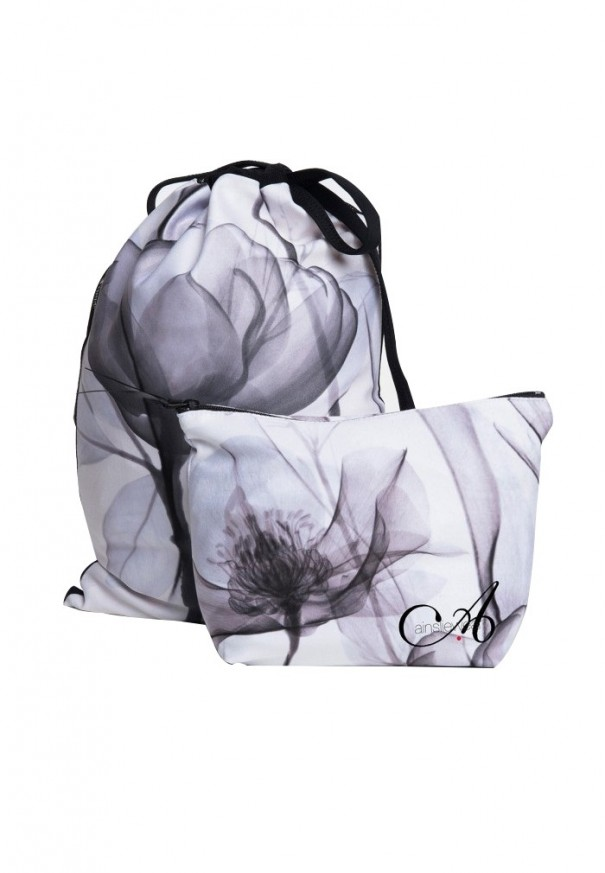 Shoe Bag X/Ray Flowers