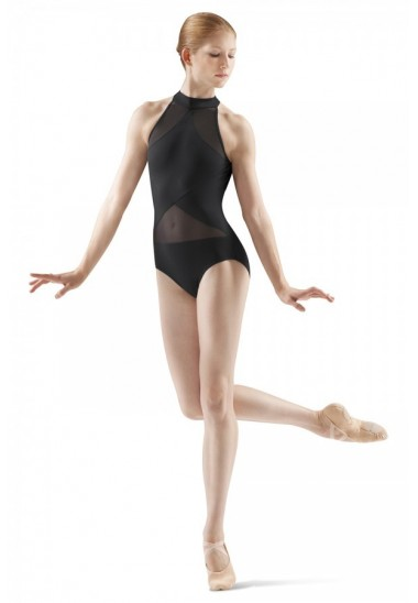 SHEER PANEL LEOTARD