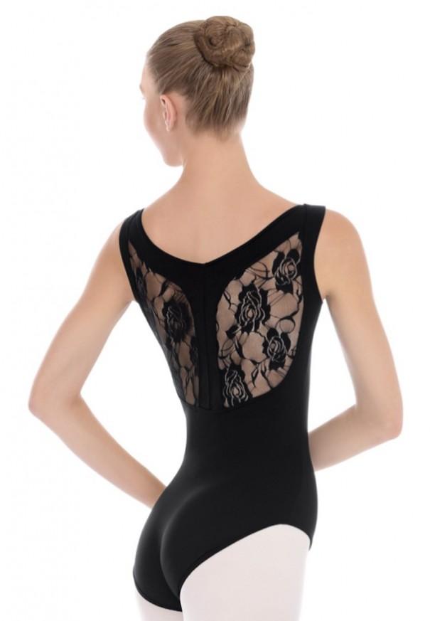 "Adult ""Y"" back lace leotard"