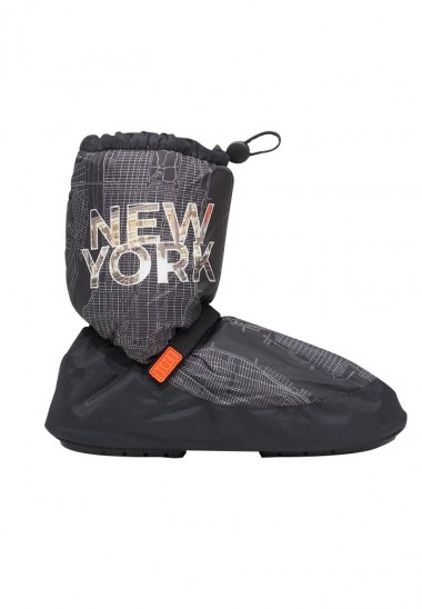 New York City Map Multi-function Warm Up Booties