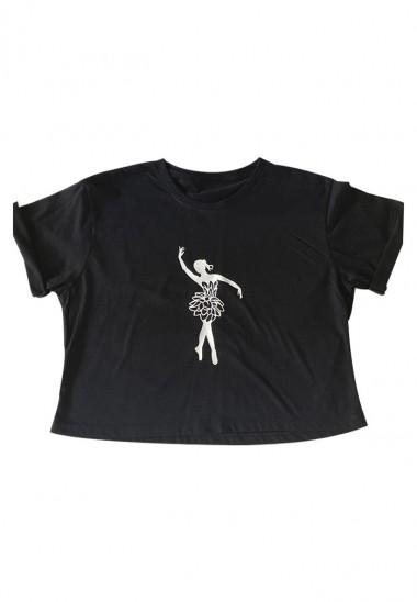 Camiseta Crop-Top