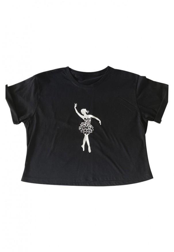 Camiseta Mini Crop-Top