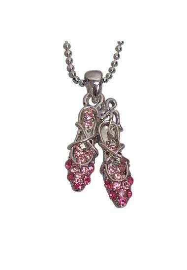 Ballet Slipper Necklace
