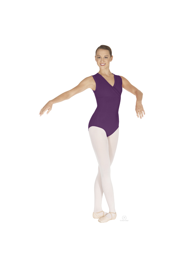 Tactel Wrap Front Leotard EUROTARD